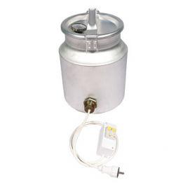 Фляга алюминиевая 18 л + ТЭН 2 кВт + термометр