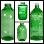 Стеклянные бутыли