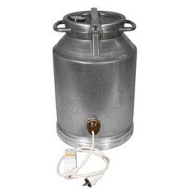 Фляга алюминиевая 40 л + ТЭН 3 кВт + термометр