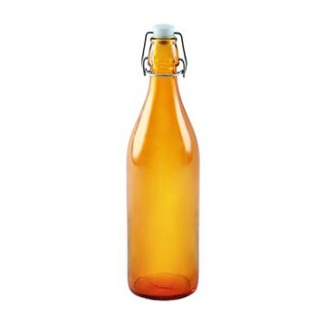 Бутылка оранжевая 1 л