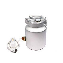 Фляга алюминиевая 10 л + ТЭН 1 кВт + термометр