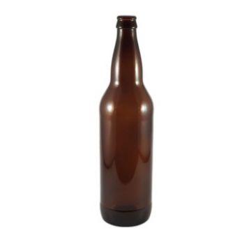 Бутылка для пива из темно-коричневого стекла 0,5 л