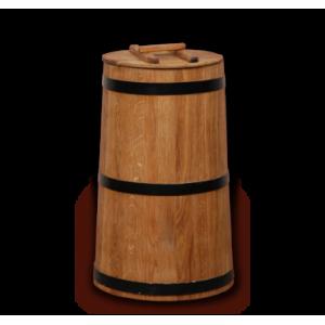 Кубельчик дубовый 40 л (кавказский дуб)