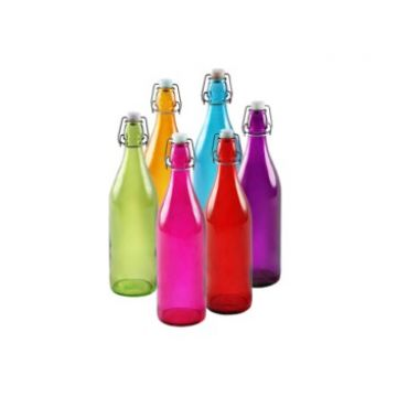 Комплект бутылок «Радуга» 1 л (6 шт.)