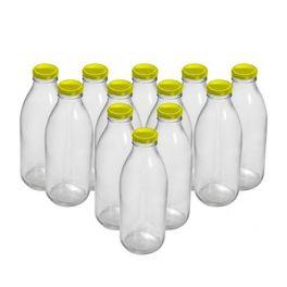 Комплект бутылок «Для молока» 0,75 л (12 шт.)