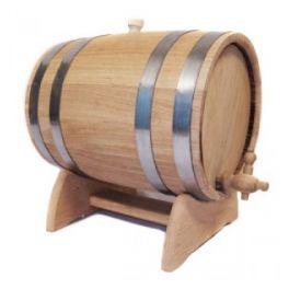 Бочка для вина 5 л Люкс (украинский дуб)