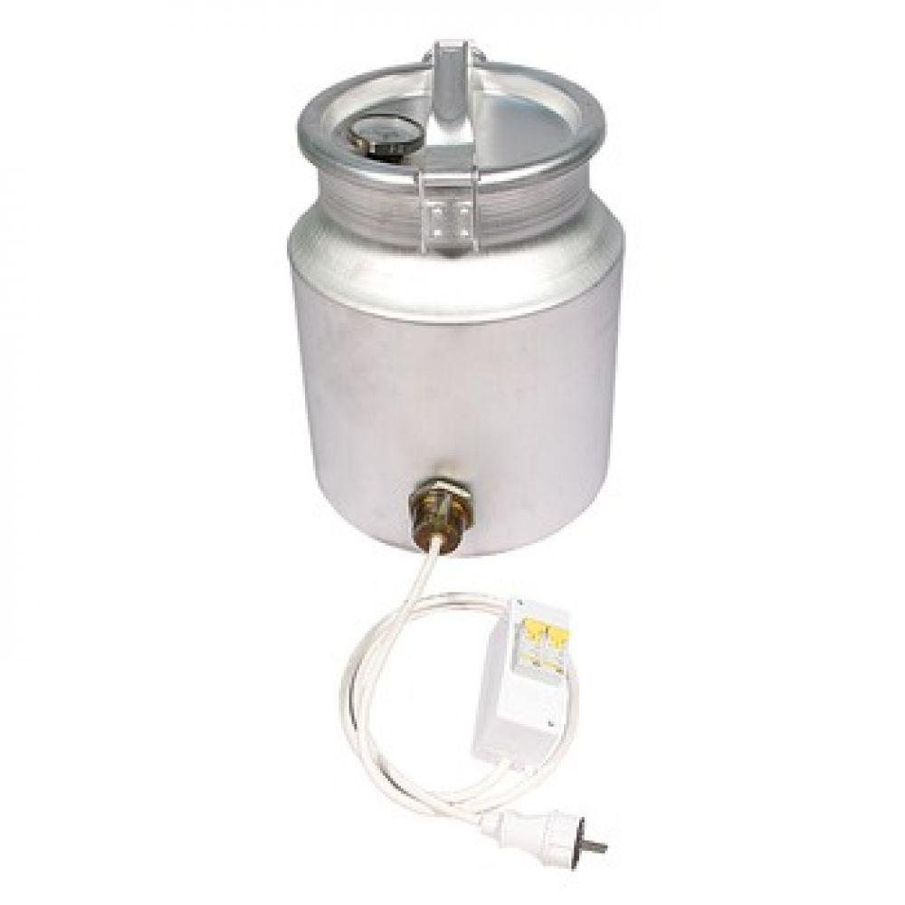 Купить Фляга алюминиевая 18 л с термометром (ТЭН 2 кВт) в Уфе
