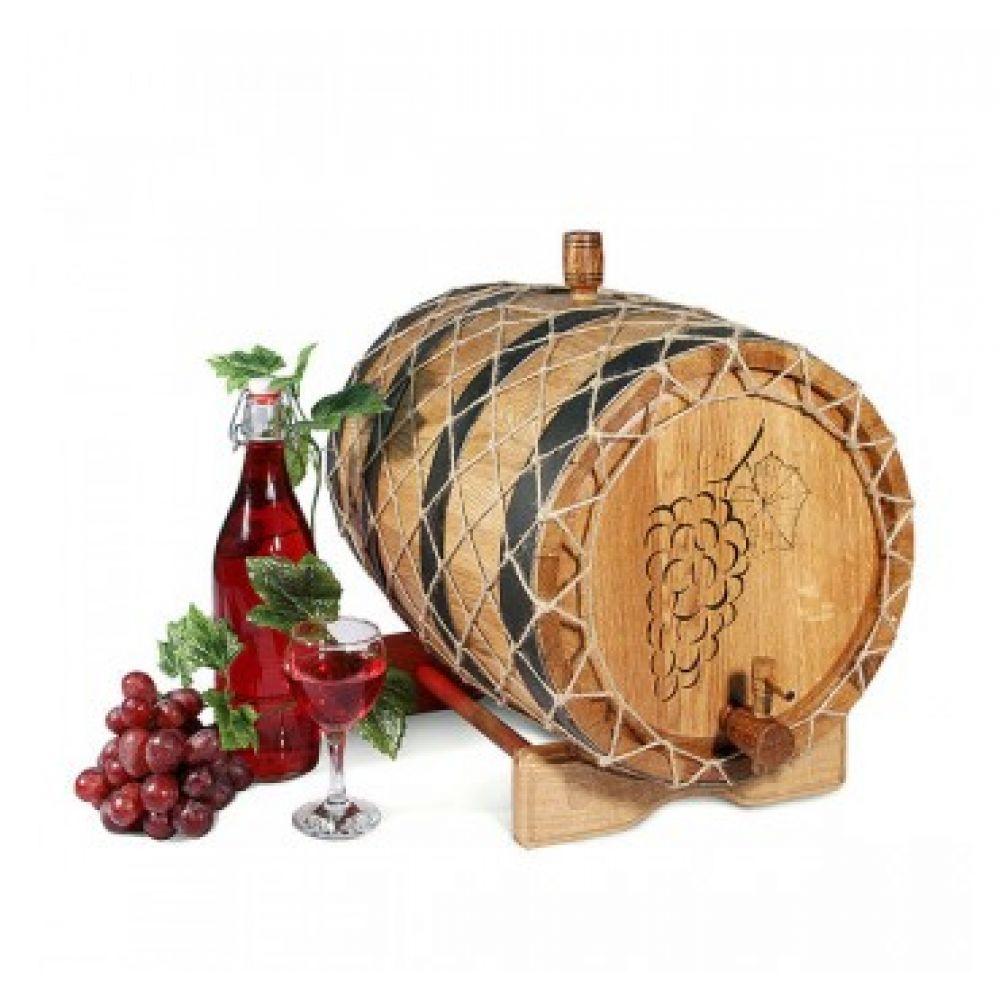 Купить Бочка с краном 25 л Премиум (кавказский дуб) в Уфе