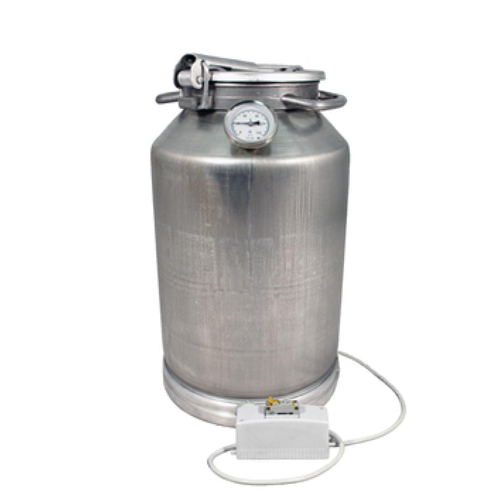 Купить Фляга алюминиевая 25 л с термометром (ТЭН 2 кВт) в Абакане