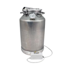 Фляга алюминиевая 25 л + ТЭН 2 кВт + термометр