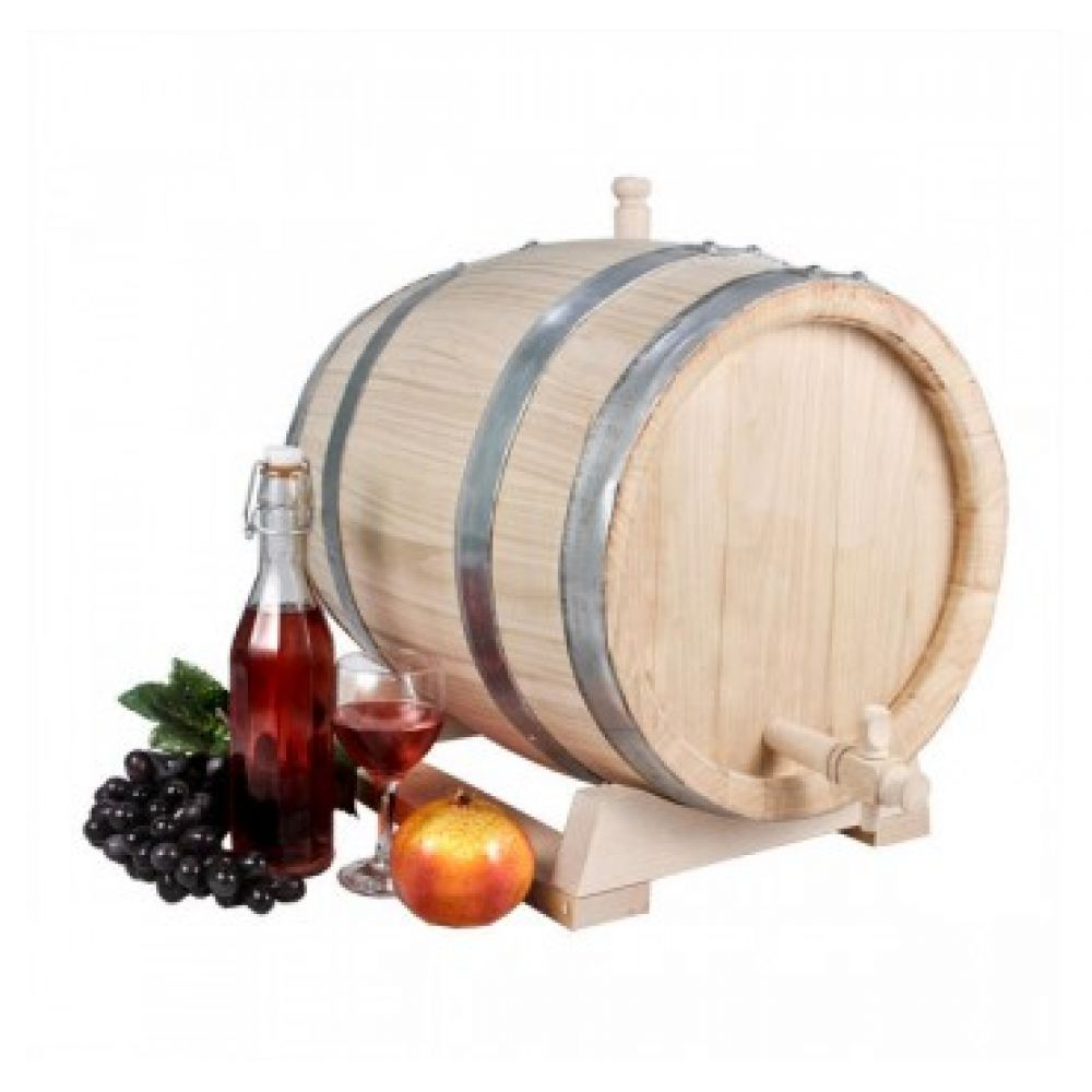 Купить Бочка с краном 25 л Эксклюзив (из вишни) в Уфе