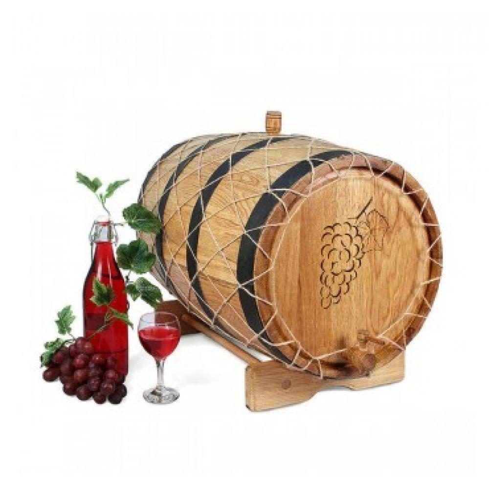 Купить Бочка с краном 50 л Премиум (кавказский дуб) в Абакане