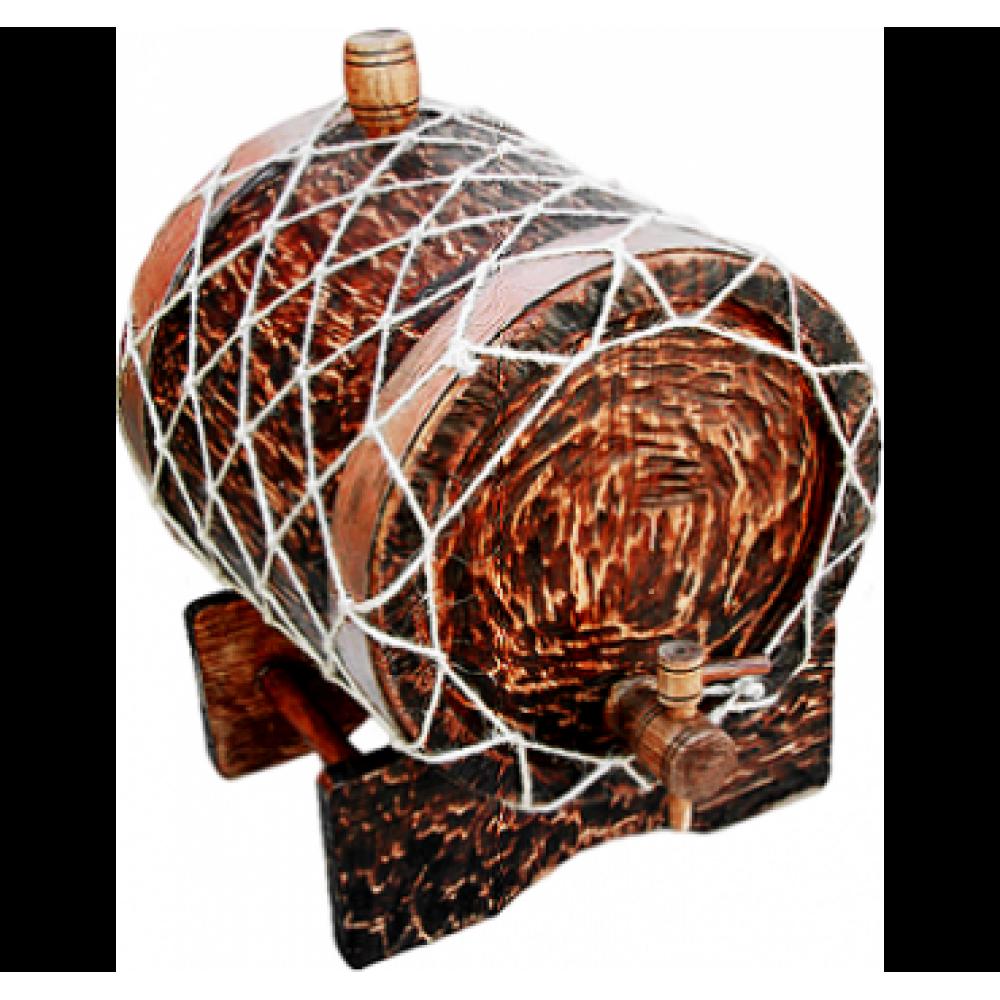 Купить Жбан под старину 6 л Премиум (Кавказский дуб) в Уфе