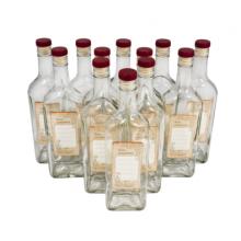 Комплект бутылок «Сибирь» с крышкой 0,5 л (12 шт.)
