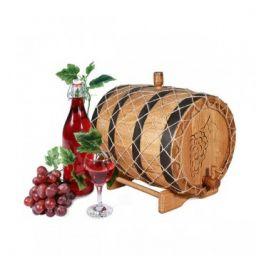 Бочка для вина 10 л Премиум (кавказский дуб)