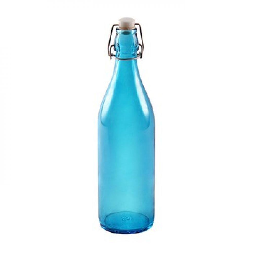 Бутылка голубая 1 л в Абакане