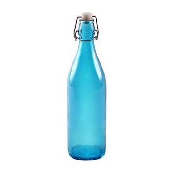 Бутылка голубая 1 л