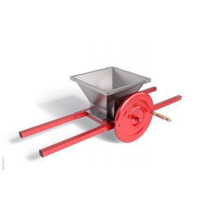 Дробилка без гребни отделителя для винограда ручная