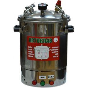 Автоклав  «МалышЭл Нерж» на 22 литра