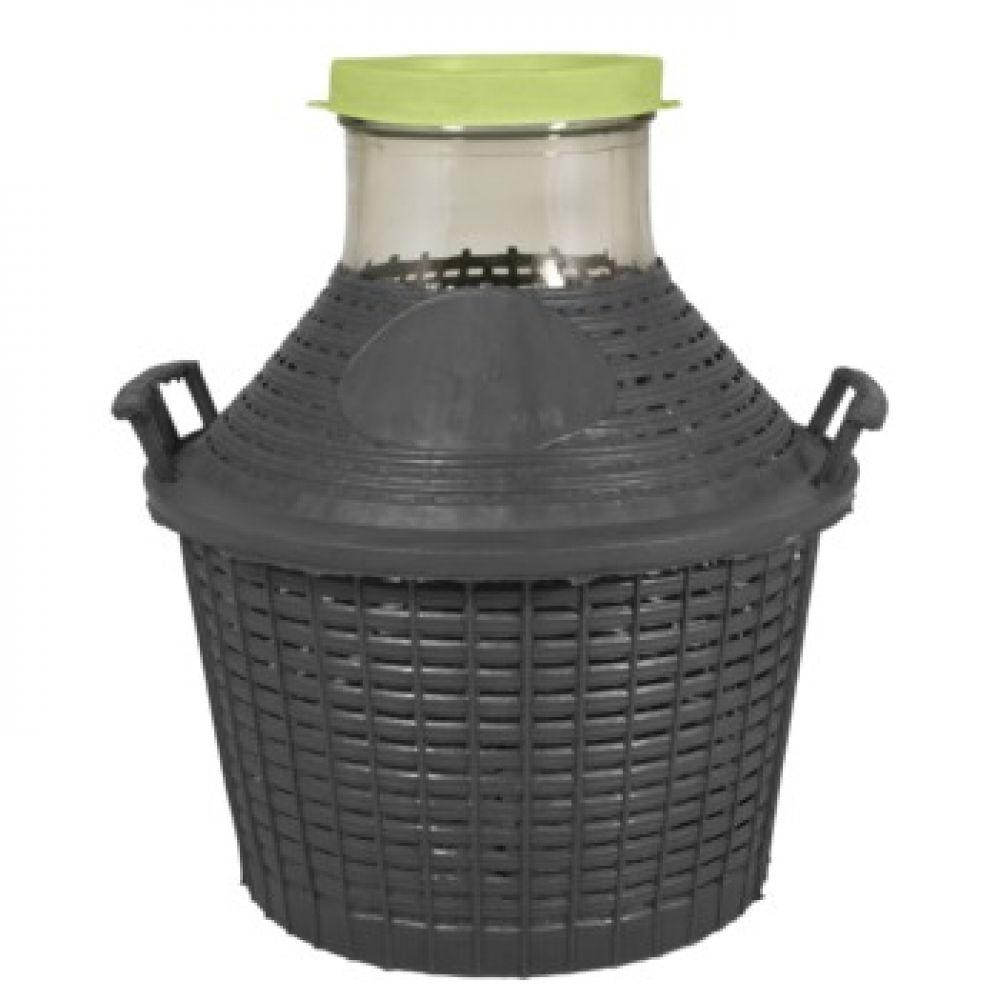 Купить Банка в пластиковой корзине 10 л в Абакане