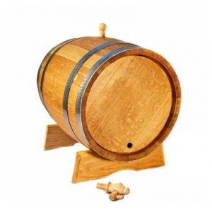 Дубовая бочка с краном 40 л Стандарт (украинский дуб)