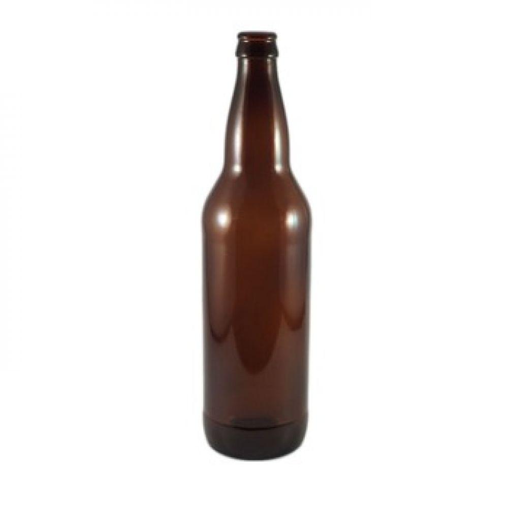 Бутылка для пива из темно-коричневого стекла 0,5 л в Уфе