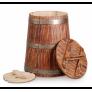 Кубельчик под старину дубовый 25 л (кавказский дуб)