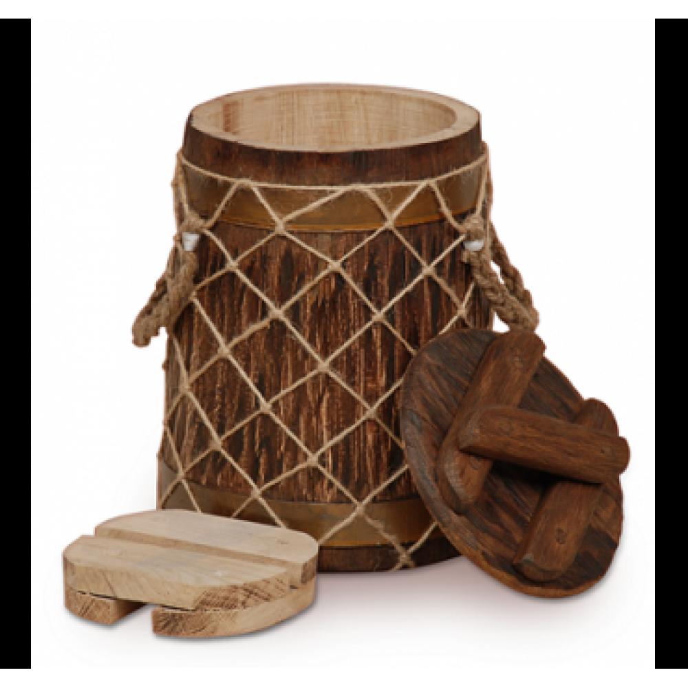 Купить Кубельчик для засолки под старину дубовый 4 л (кавказский дуб) в Уфе