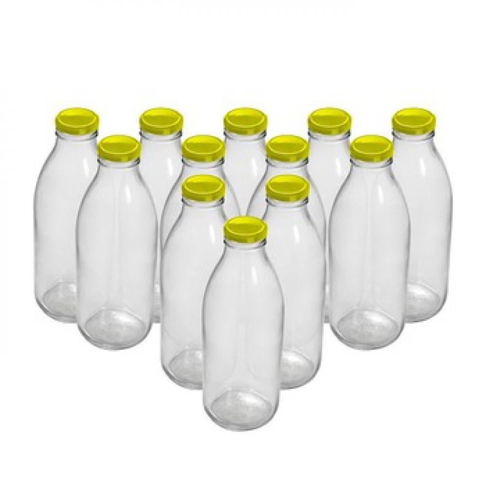 Комплект бутылок «Для молока» 0,75 л (12 шт.) в Абакане