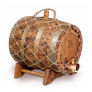 Бочка с краном под старину 10 л Премиум (кавказский дуб)