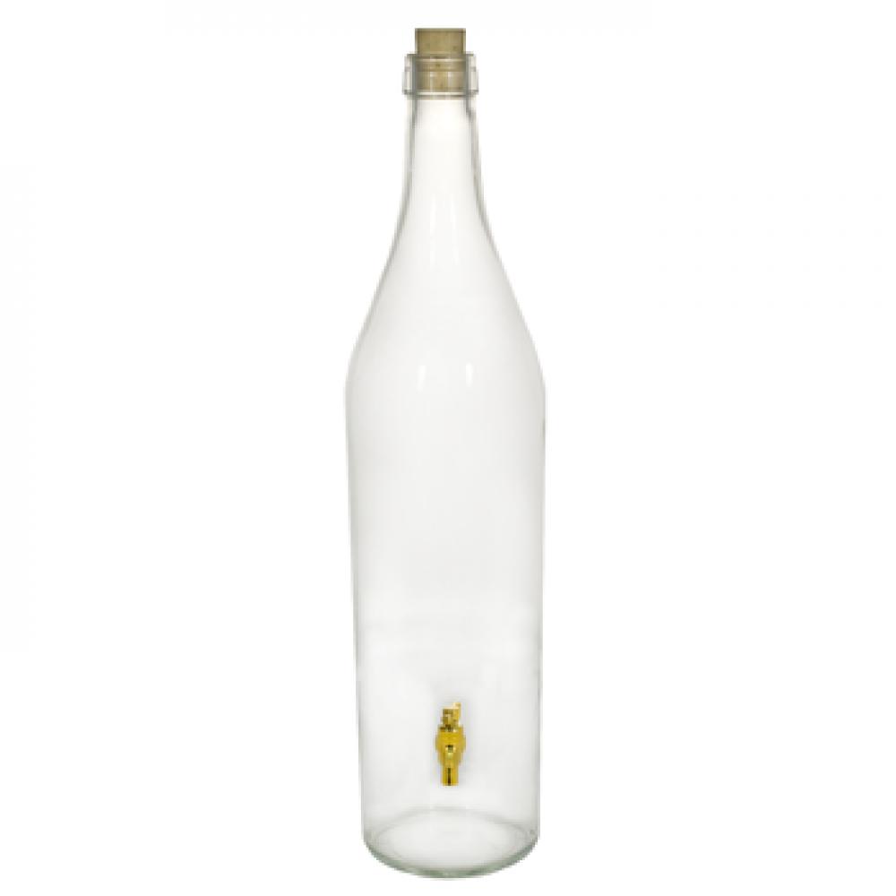 Купить Бутылка «Русская четверть» 3 л с краном в Уфе