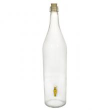 Стеклянная бутылка «Русская четверть» 3 л с краном