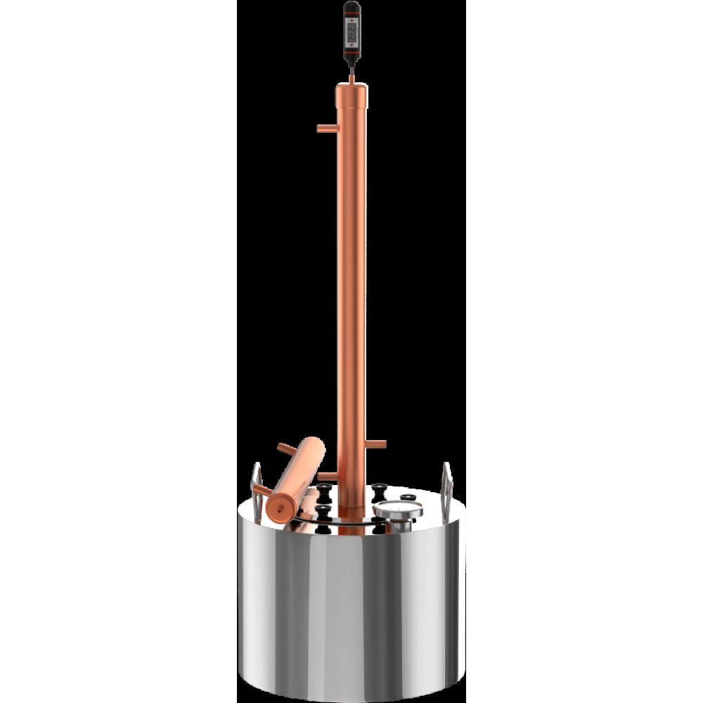 Самогонный аппарат 12 литров – оптимальный объем для домашнего самогоноварения