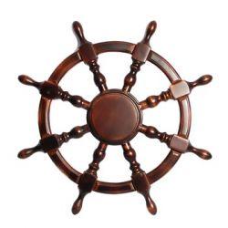 Декоративные деревянные штурвалы