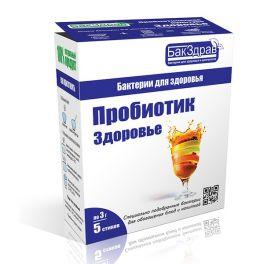 Закваска-пробиотик Здоровье БакЗдрав