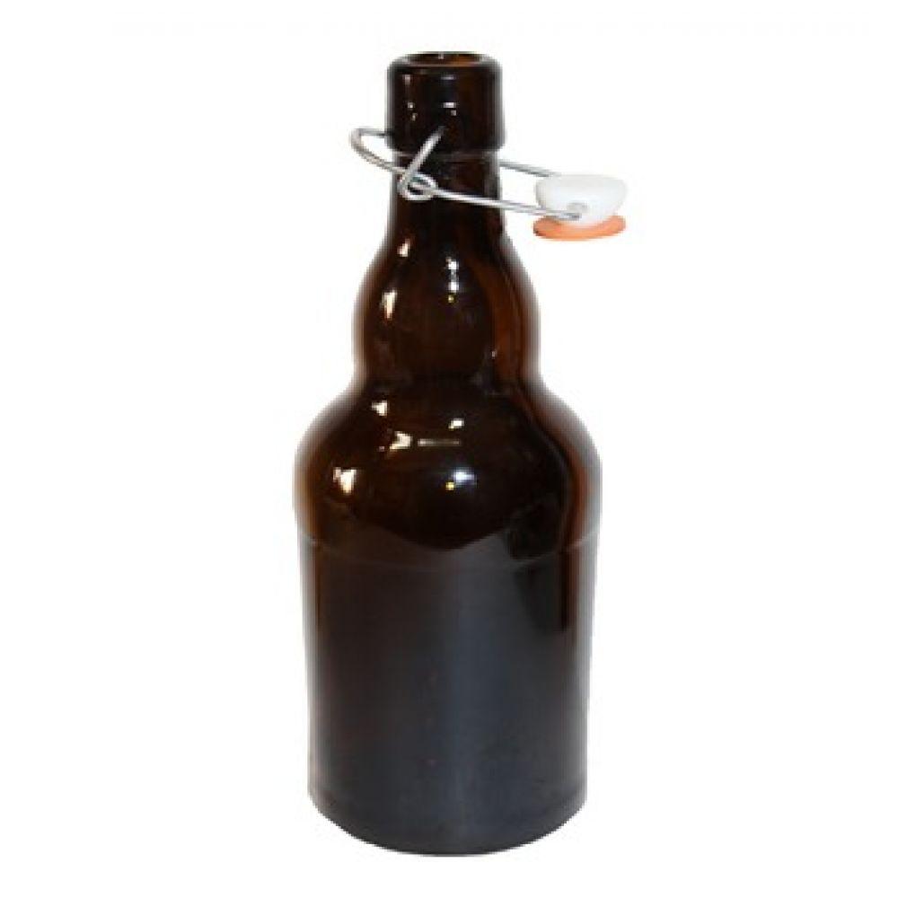 Бутылка для пива 0,5 л с бугельной пробкой в Уфе