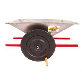 Дробилка PGI ручная большая для винограда, нержавеющая сталь