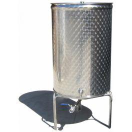 Емкость с пневмо и пылезащитной крышкой (200л)