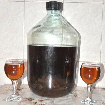 Рецепт приготовления самогона на дубовой коре